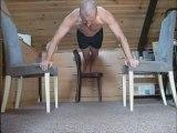 Exercice A1 (17 reps, écart mains 73cm, delta 0cm)