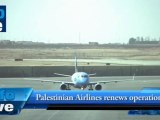 Palestinian Airlines renews operations