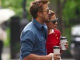 Eva Mendes, Ryan Gosling Step Out In NYC