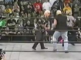 WCW - Dusty Rhodes and Dustin Rhodes vs Ric Flair and Jeff Jarrett at Greed 2001