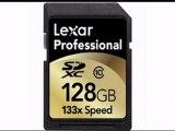 Lexar Media 128 GB SDXC Flash Memory Card LSD128CRBNA133