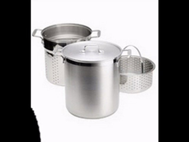 All-Clad Stainless 12-Quart Multi Cooker with Steamer Basket