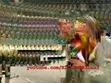 Evolution Triple H (with Randy Orton Batista Ric Flair) invites Eugene to Evolution_(360p)