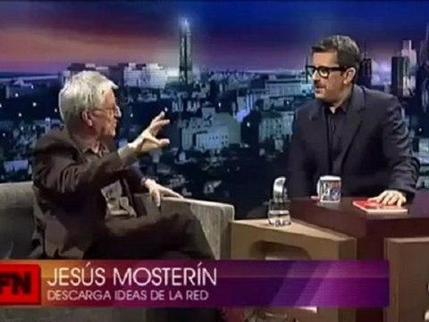 Jesús Mosterín en Buenafuente.