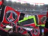 PSG - Rennes au Parc des Princes : Entrée des joueurs