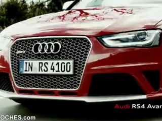 Audi RS4 Avant 2012 - (Trailer)