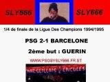 PSG-Barcelone 94-95 Guerin
