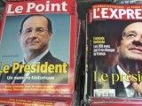 Quotidiens et hebdomadaires, annonce de la victoire de François Hollande à l'élection présidentielle 2012