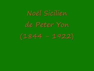 Noël sicilien par Philippe Bens
