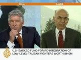 Afghan ex-minister confirms Taliban talks