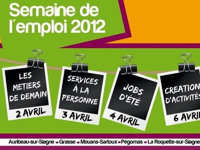 Ateliers de la semaine de l'emploi 2012 du pays de Grasse
