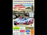 40 EME SLALOM DES DEUX PONTS 1ER MANCHE CHRONO 2eme partie