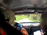 Rallye du beaufortain 2012 Es1 Hautluce GArel-Forlin 106 rallye N2