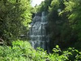 Les cascades du Hérisson : La cascade de l'Eventail
