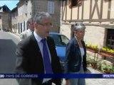 Portrait de Pascal Coste sur france 3 pays de Corrèze le 15 mai 2012.