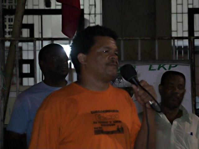 Elie Domota Meeting LKP 140512 PAP