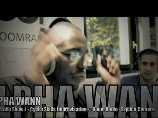ALPHA WANN, Warlock DANDYGUEL Impro @ EOW Radio Show