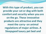 The Benefits of Using Luxury Pet Beds and Carriers