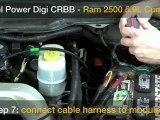 Diesel Power Digi CRBB Rail Pressure Box in a Common Rail Dodge 5.9L Cummins