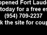 Car opened unlocked Fort Lauderdale 954-709-2237