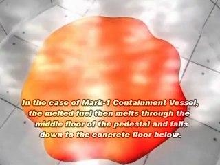 Melt-Through Simulation Created by Japan's METI Well Before Fukushima/動画で見る炉心溶融