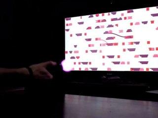 A virtual audio canvas with the PS Move de Pixel Junk 4am
