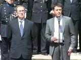 Passation de pouvoir entre Claude Guéant et Manuel Valls