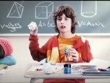 Alexandre Bacon dans une publicité pour Nestlé