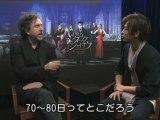 Takeru Sato and Tim Burton