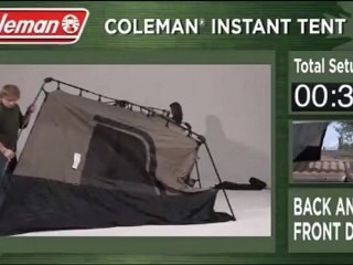 Video Coleman Instant 14- by 10- Foot 8- Person Two Room