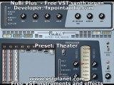 Nubi Plus - Free VST synth organ
