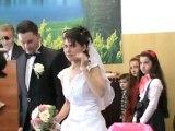 Căsătorie Daniela & Samuel Trufaş (intrarea în Bis.)