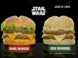 Quick - Menu Star Wars - Dark Burger - Jedi' Burger.