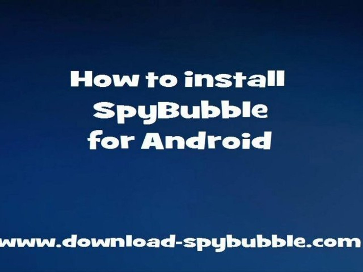 Spybubble reviews android