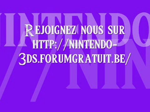 Forum Nintendo-3DS
