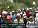 Central American migrants' demonstration  - no comment