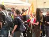 Los Príncipes son abucheados en Figueres