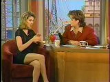 Céline Dion con Rosie O'Donnell 1996 (Entrevista)