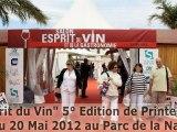 Esprit du Vin - 5° Edition de Printemps - 17 au 20 Mai 2012 au Parc de la Navale  à La Seyne sur Mer