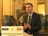 [Événement] Le Prix du jeune économiste 2012 décerné à Hippolyte d'Albis