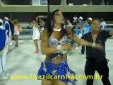 la Principessa Carnevale de Rio brasile Gruppo di samba ...