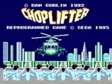 Classic Game Room - CHOPLIFTER for Sega Master System