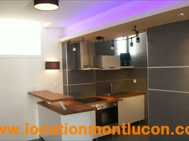 vidéo appartement f2 refait à neuf à louer proche école infirmière IFSI et l'hopital à Montluçon