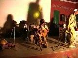 ARC DJEBE auteur compositeur musicien peintre de Lomé membre de Togohit village