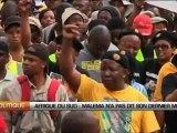 Afrique du Sud  Malema n'a pas dit son dernier mot
