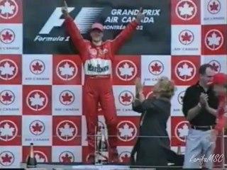 Michael Schumacher - Ferrari victories (1996-2006)