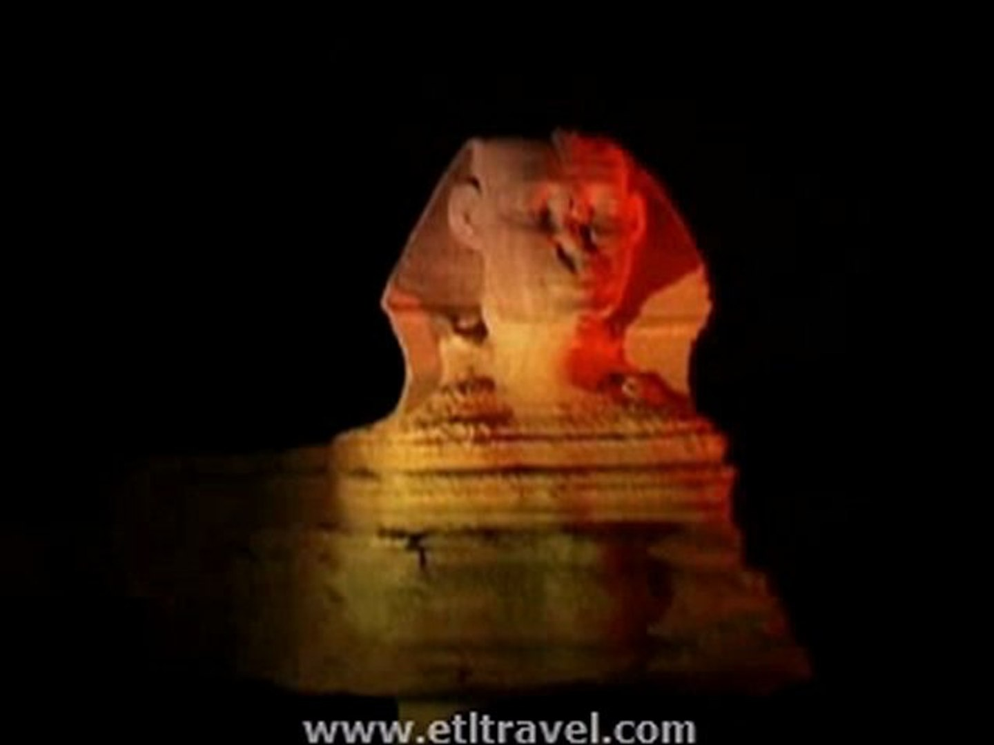 Sound and Light Show at Sphinx Plateau by www.etltravel.com