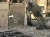Syria فري برس حمص القصور آثار القصف على حي القصور والدمار الذي خلفه قصف الليلة الماضية 23 5 2012