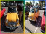 voitures anciennes (II) plages du mourillon  toulon musique menuet de boccherini