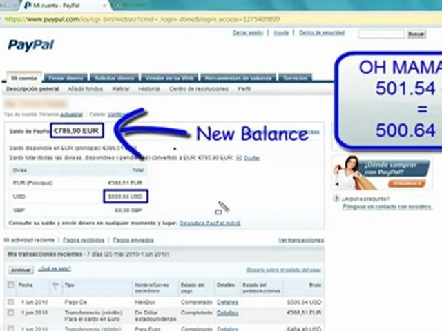 [HD] 500 $ To Your PayPal Account - Free PayPal Money - PayPal - Earn Free  PayPal Cash Money